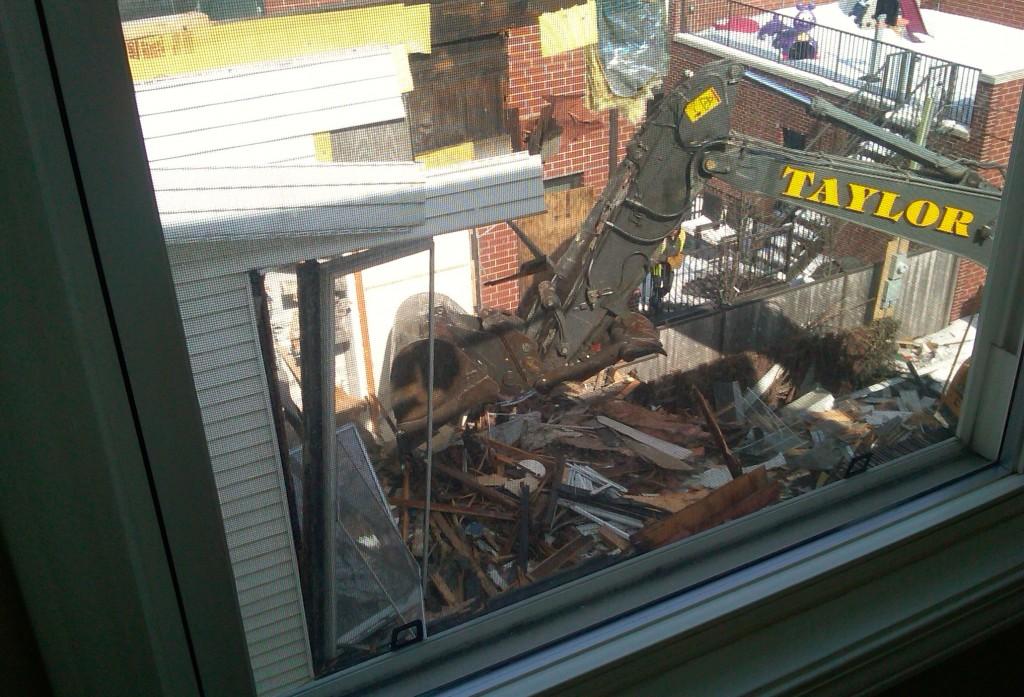 Wrigleyville teardown