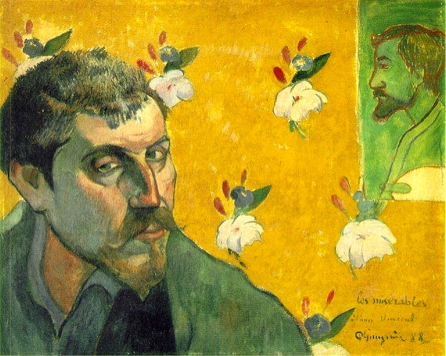 Paul Gauguin: Les Miserables 1888